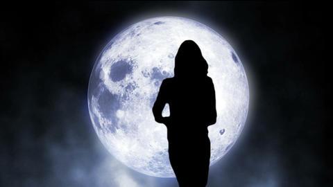 Moon dancer 01 Stock Video Footage