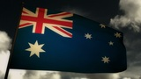 Flag Australia 02 Animation