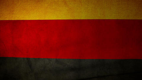 flag germany 04 Stock Video Footage