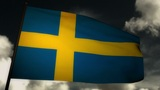 Flag Sweden 02 Animation