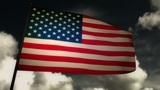 Flag usa 02 Animation