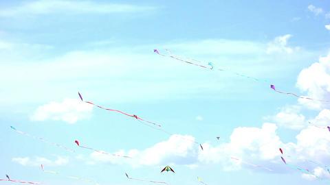 Kite 07b Stock Video Footage