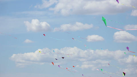 Kite 06 Stock Video Footage