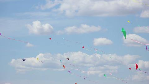 Kite 06 Stock Video Footage