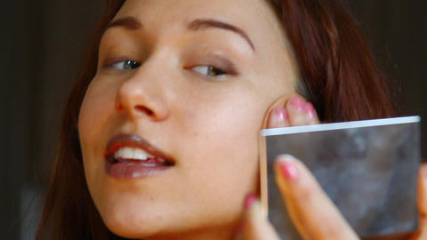 make up Stock Video Footage