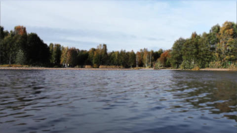 inflatable boat Stock Video Footage