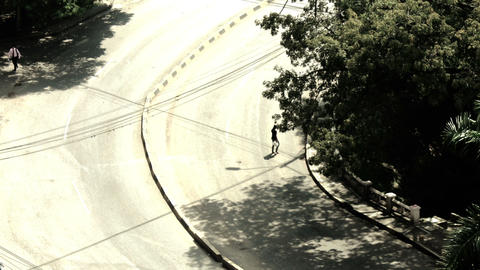 city traffic 02 Stock Video Footage