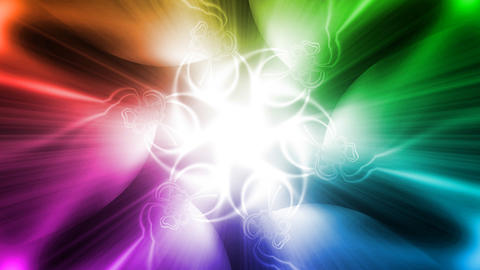 Boisterous dance of the light Stock Video Footage