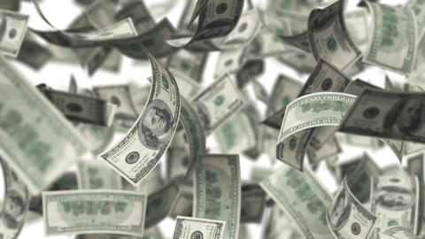 Hundred Bucks Stock Video Footage
