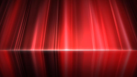 Stage Curtain 4 Ac 3 HD Stock Video Footage