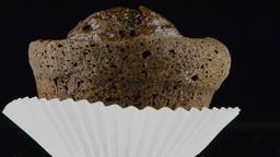 Rotating cupcake Footage