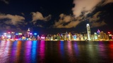 Hong Kong show Symphony of Lights, time lapse Footage