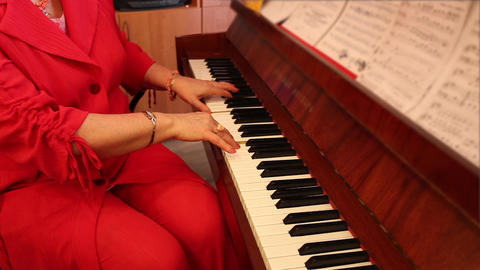 pianist Stock Video Footage