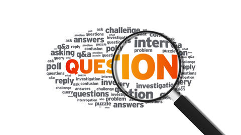 Questions Stock Video Footage