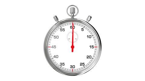 Stopwatch Loop Realtime Stock Video Footage