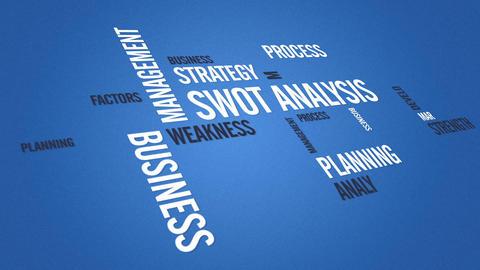 Swot Analysis Stock Video Footage