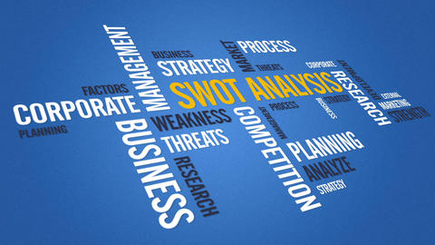 Swot Analysis Stock Video Footage