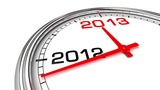 New Year 2013 Clock (with Matte) Animation