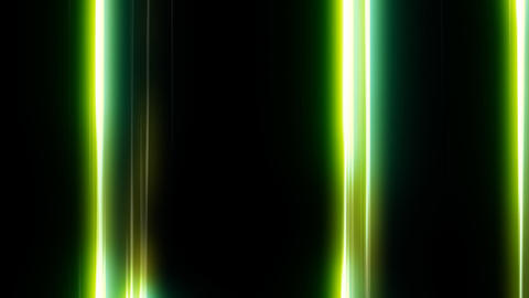 Loopable HD Line Background - Green Animation