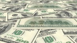US Dollars stock footage