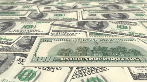 US Dollars Stock Video Footage