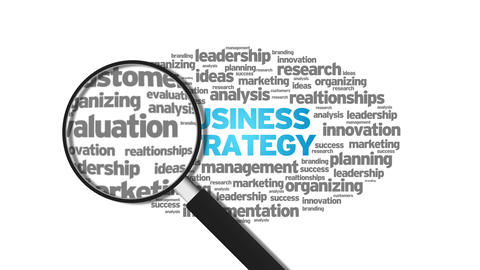 Business Strategy Stock Video Footage