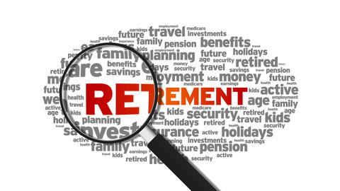 Retirement Stock Video Footage