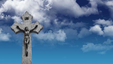 Crucifix Stock Video Footage