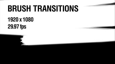 Brush Transitions Pack 1 After Effects Template
