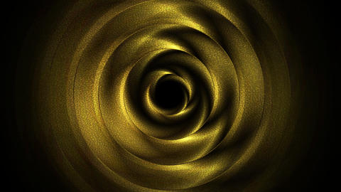 Golden abstract circles video animation Animation