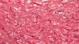 Raw Hamburger Meat stock footage