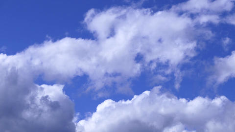 Milky Clouds On Blue Sky Live Action