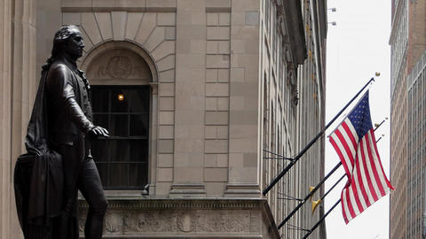 New York Federal Hall Live Action