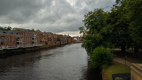 York, England, UK Footage