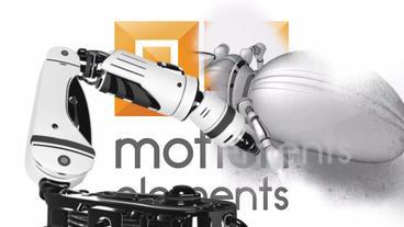 Robotic Transition Plantilla de After Effects
