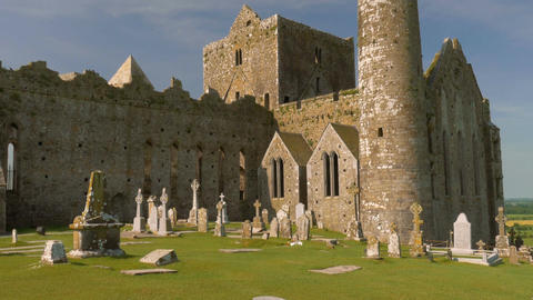 Rock Of Cashel, County Tipperary, Ireland - Graded Version ビデオ