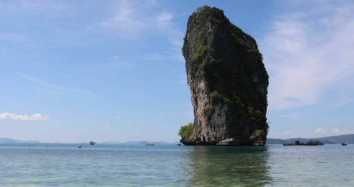 Thailand, Krabi Island Live Action