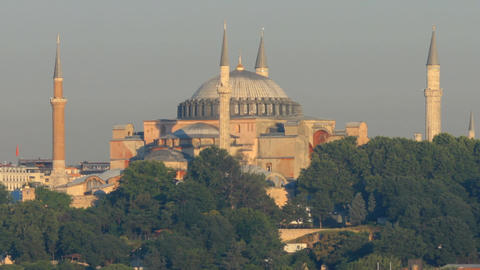 Hagia Sophia in Istanbul Footage