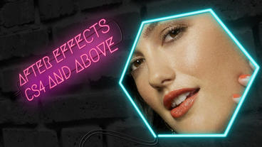 Neon Lights: After Effects Template After Effects Template