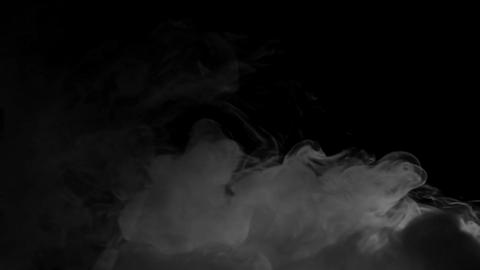 Smoke on black background for background or overlay on your footage Footage