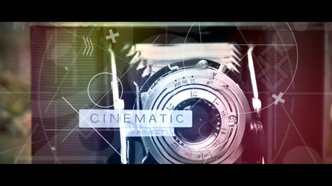 Epic Geometric Motivational Cinematic Presentation (CS6) M E After Effects Template