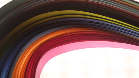 Rainbow Colorful Papers Texture ビデオ