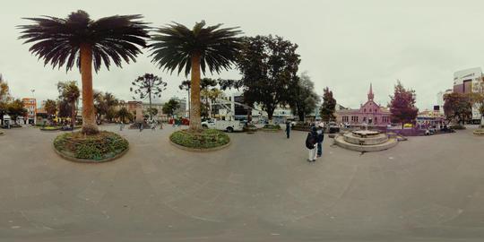 360Vr La Providencia School And Cevallos Park In Ambato Ecuador 360 Vr Footage