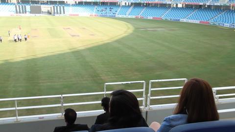 Cricket Play Stadium Filmmaterial
