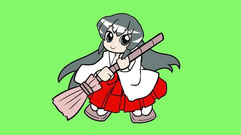 Miko manga taste Animation