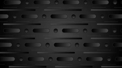 Abstract black minimal geometric video animation Animation