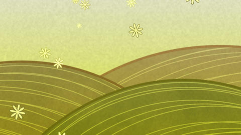 SHA wa BG Yellow Effects, Stock Animation