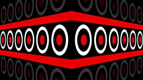 Pulse Circles 4K 01 Vj Loop Animation