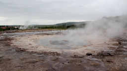 Iceland Hot Springs stock footage