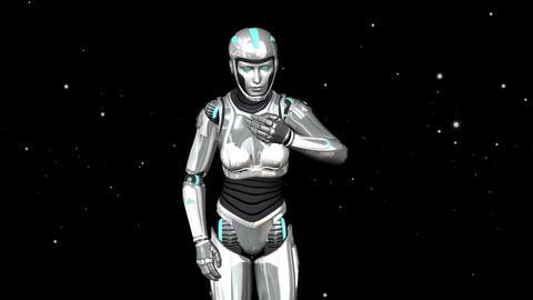 robot sneezes animation Animation